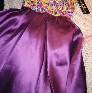 Milano Formals Dresses - Milano formals NWT size 8P purple dress